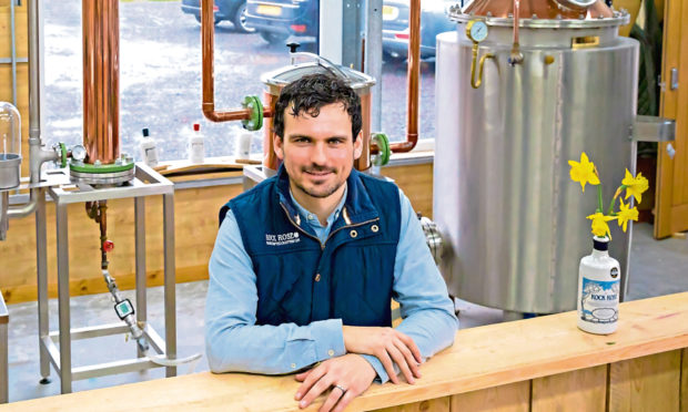 Highland gin producer has become toast of industry in only seven years