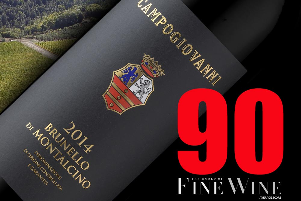 Campogiovanni 2014 Brunello  – Top 10