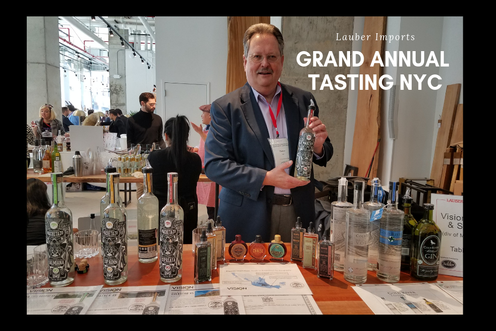 Vision Attends Lauber's Grand Annual Tasting  @ NYC