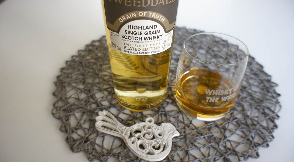 Tweeddale Grain of Truth Peated Whisky Review and Tasting Notes