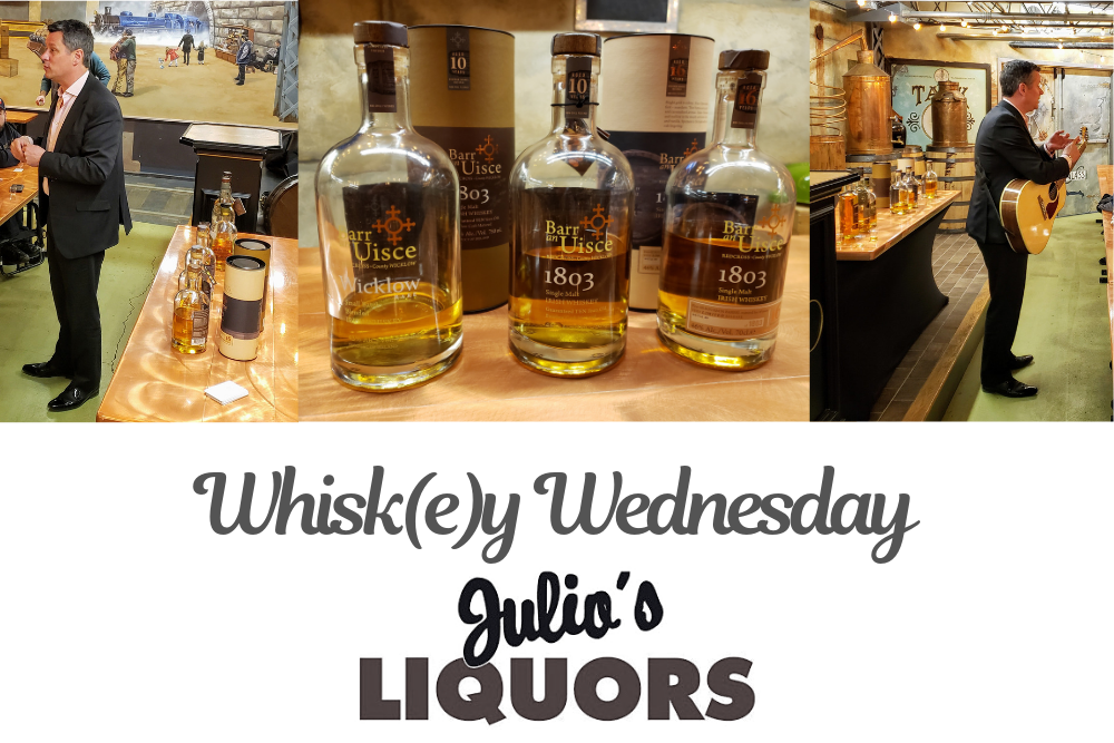 Barr an Uisce @ Julio's Liquors Whisk(e)y Wednesday