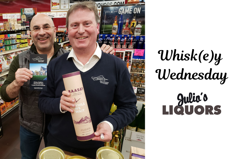 Raasay @ Julio's Liquors Whisk(e)y Wednesday