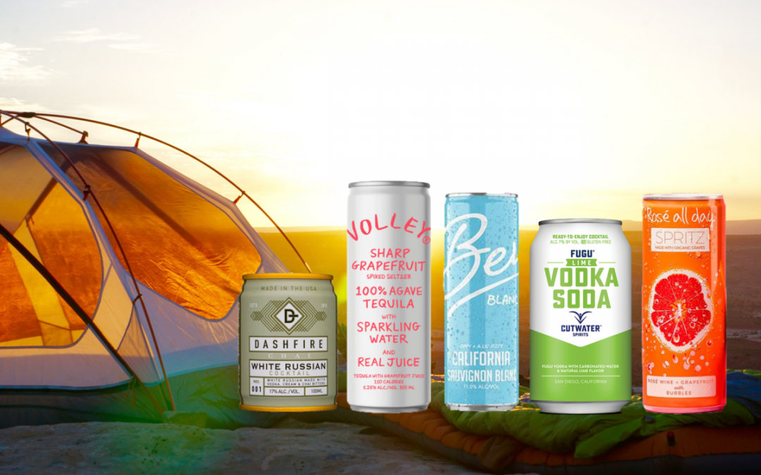 The Best Canned Drinks for Camping & The Great Outdoors