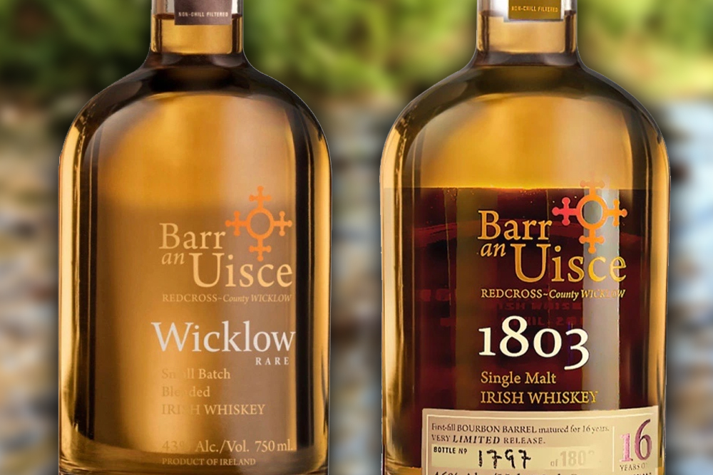 A Review of Two Barr an Uisce Irish Whiskeys