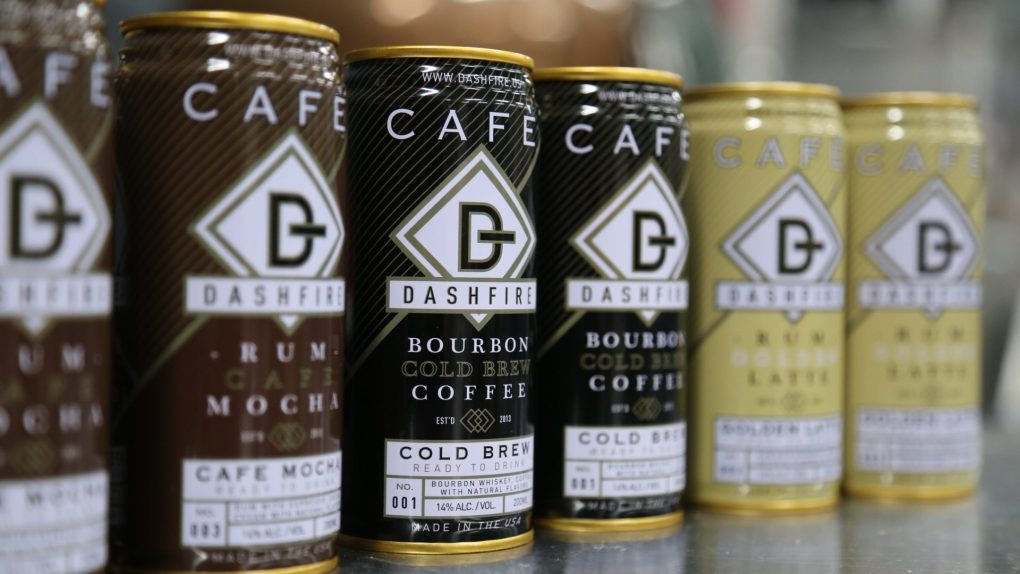 Dashfire bitters introduces hard coffees to the market