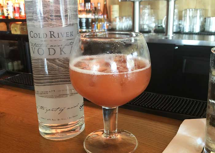 Try a Cold River Cocktail at Milk Money
