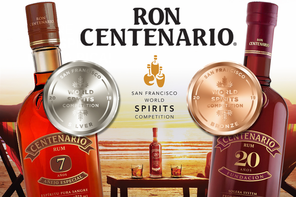 It's MEDALS for Ron Centenario!