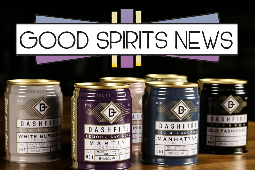 Dashfire RTD featured in Good Spirits News