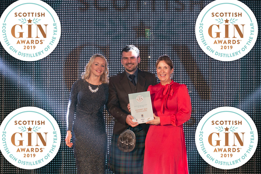 Dunnet Bay Distillers wins Scottish Gin Distillery of the Year!