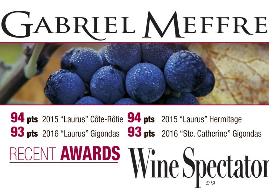 Gabriel Meffre Earns High Ratings