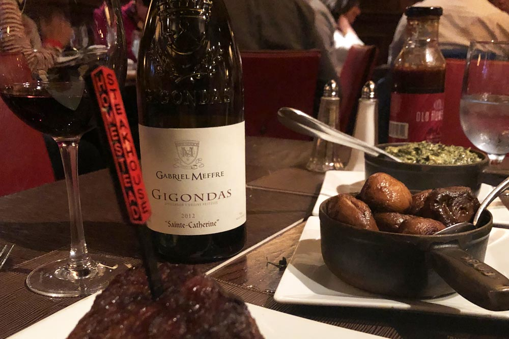 Gigondas at the Homestead NYC